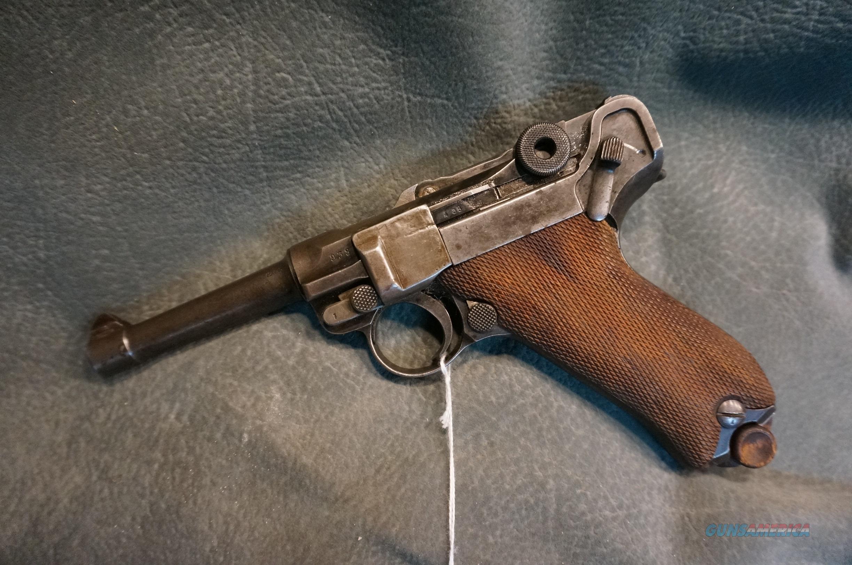 Luger 9mm 1912 Erfurt  Guns > Pistols > Luger Pistols