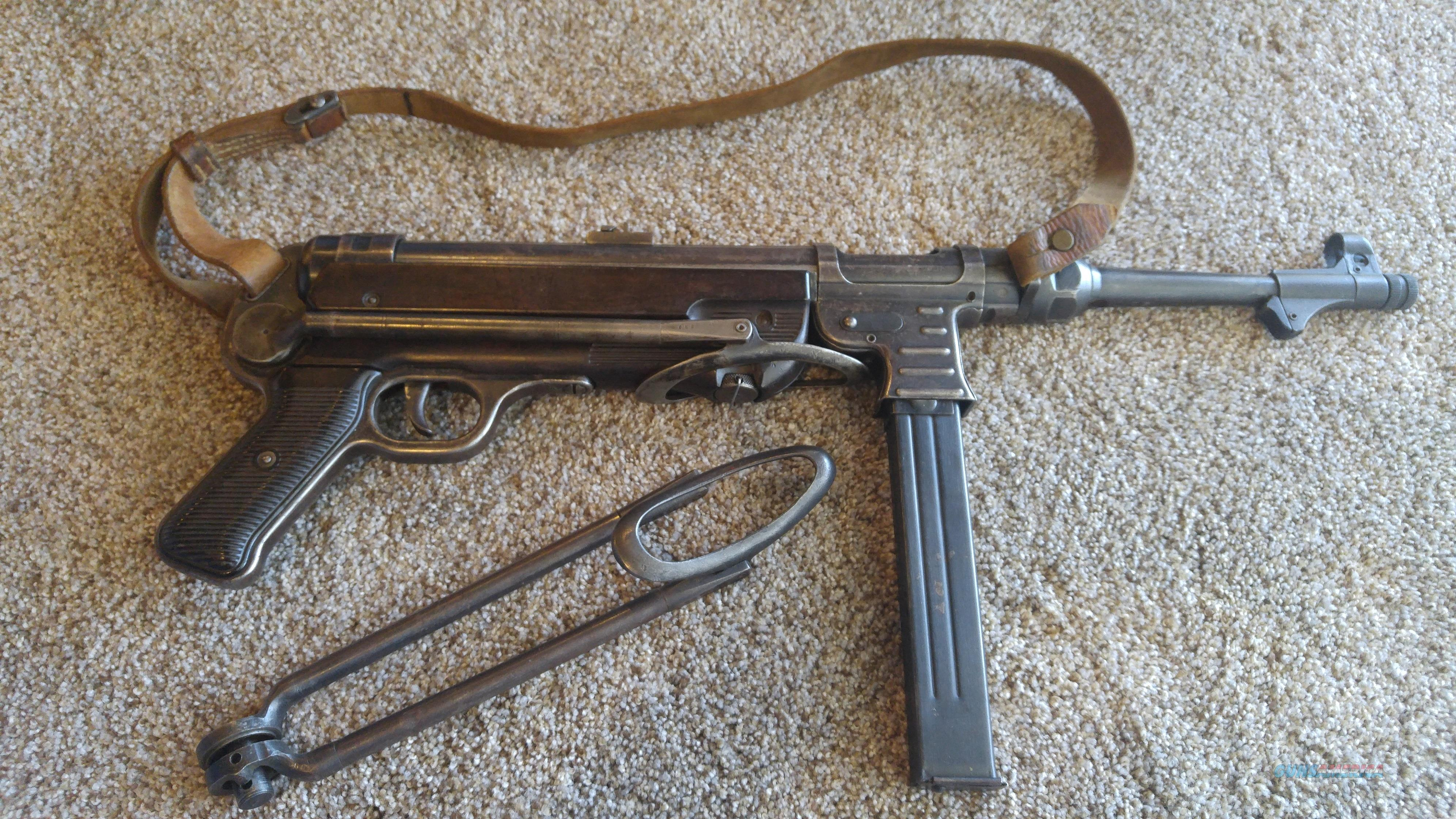 MP-40 9mm German Schmeisser  Guns > Pistols > Class 3 Pistols > Class 3 Subguns