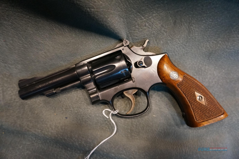"S+W K22 Pre model 18,22LR 4""  Guns > Pistols > Smith & Wesson Revolvers > Med. Frame ( K/L )"