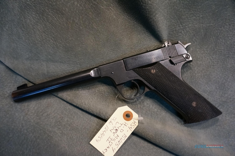 Hi Standard H-D Military Type II 22LR  Guns > Pistols > High Standard Pistols