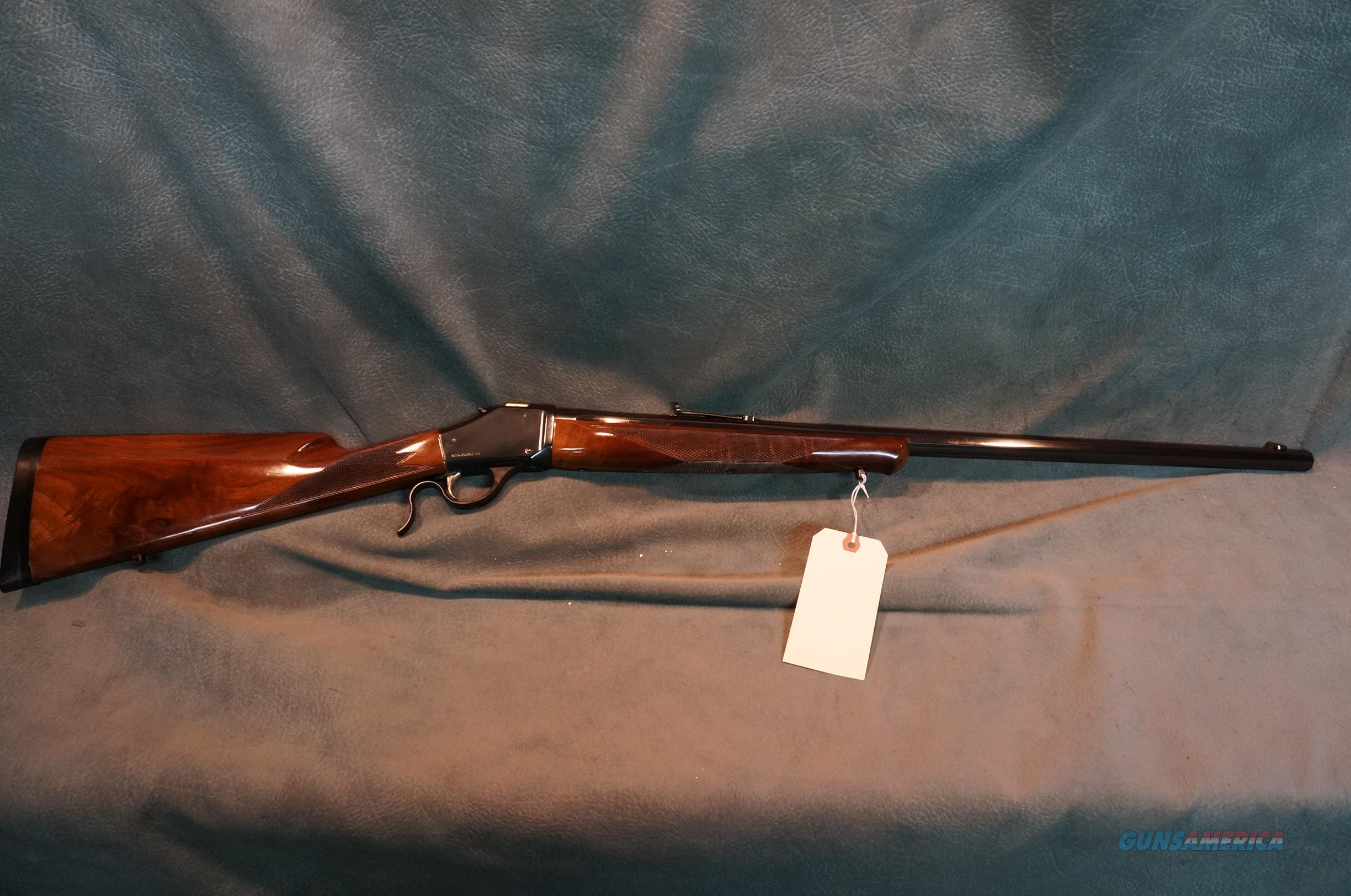 Browning 1885 454 Casull pretty wood  Guns > Rifles > Browning Rifles > Single Shot