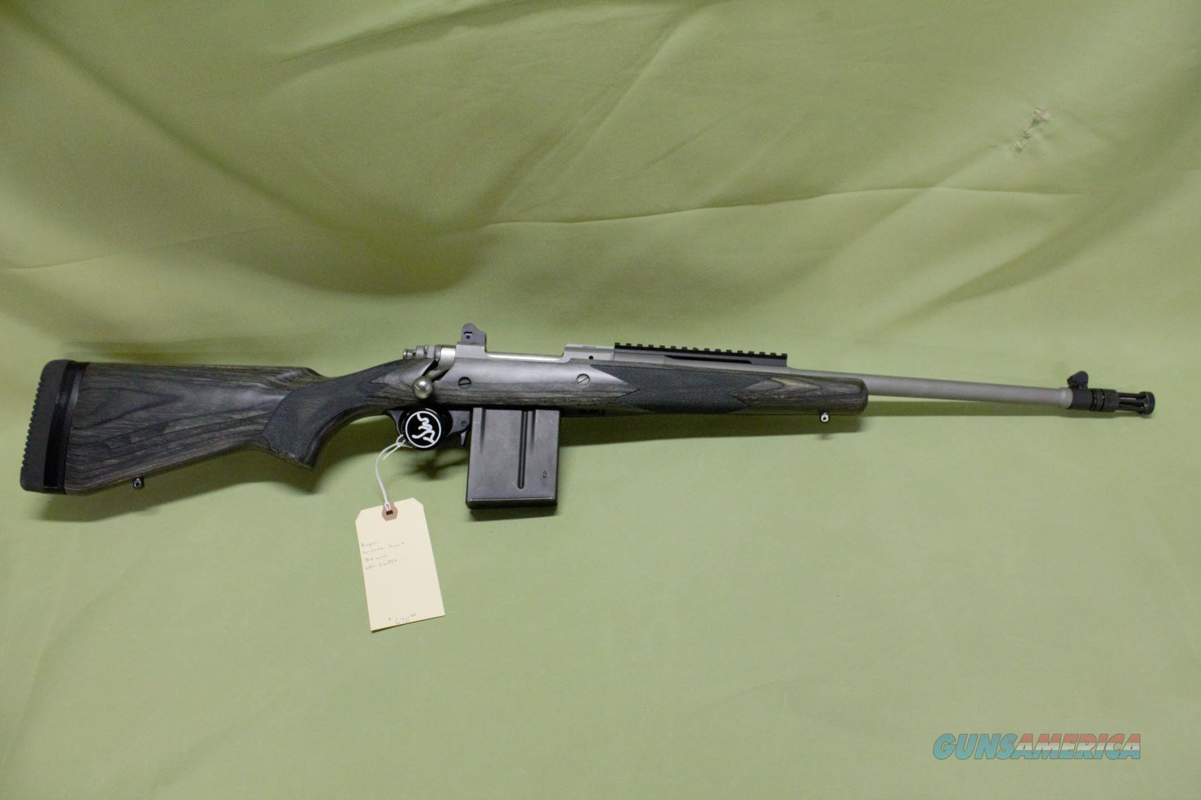 Ruger Gunsite Scout 308 Win  Guns > Rifles > Ruger Rifles > Gunsite