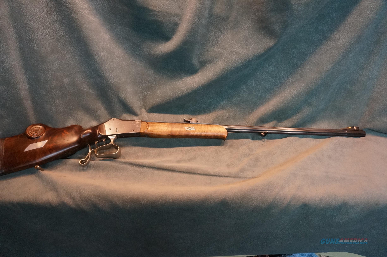 German Schuetzen Rifle Luthy  Guns > Rifles > Antique (Pre-1899) Rifles - Ctg. Misc.
