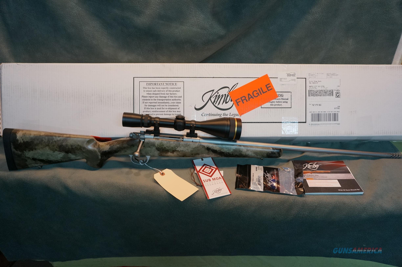 Kimber 84L 280AI LNIB with Leupold VarXIII 4.5-14x50 scope  Guns > Rifles > Kimber of America Rifles