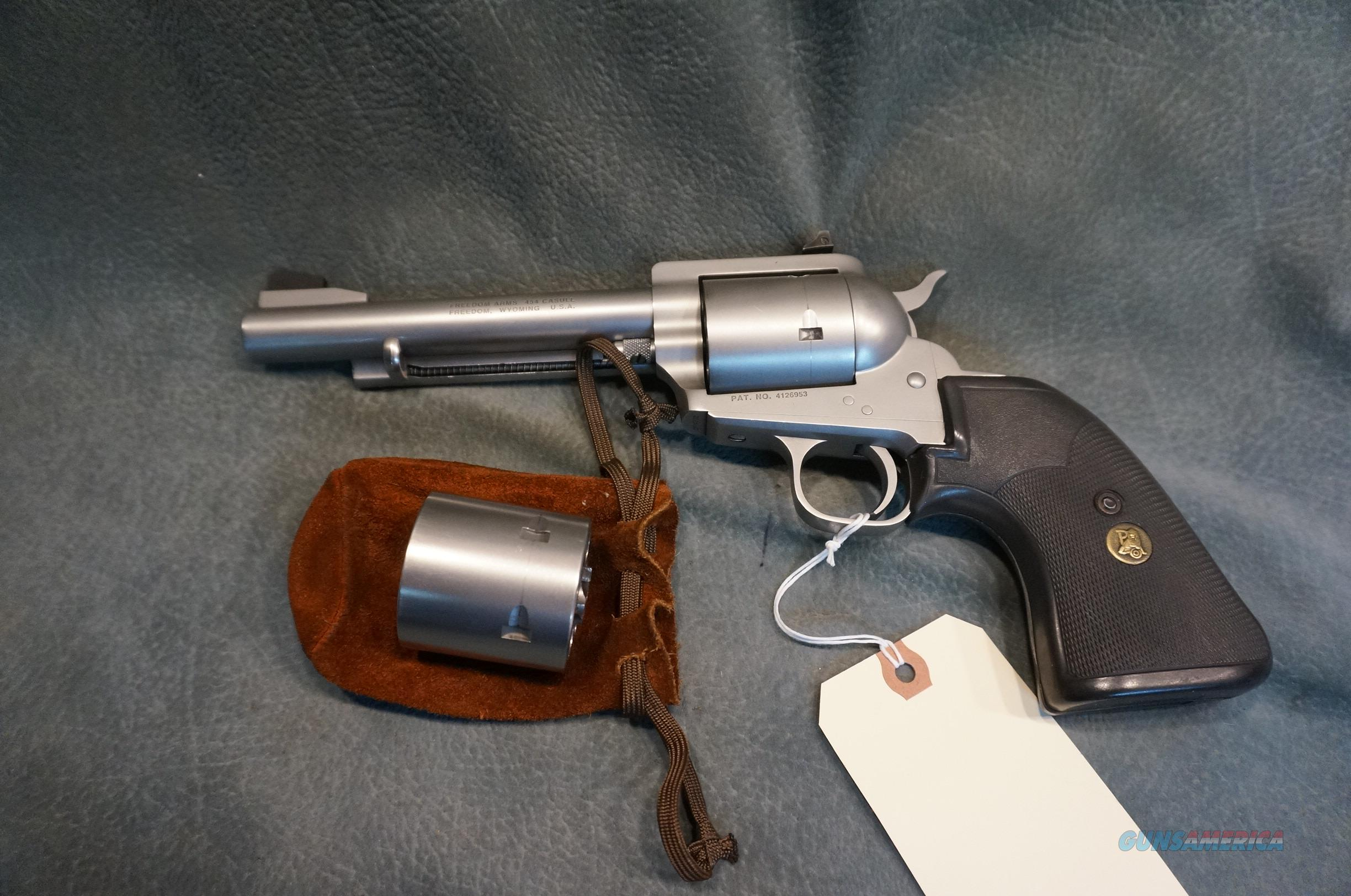 Freedom Arms Model 83 454Casull with extra 45LC Cylinder  Guns > Pistols > Freedom Arms Pistols