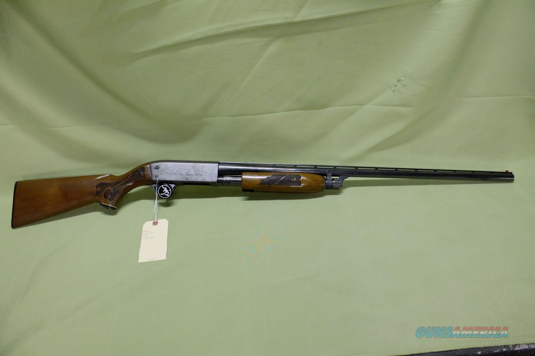 Ithaca Model 37 12 Gauge  Guns > Shotguns > Ithaca Shotguns > Pump