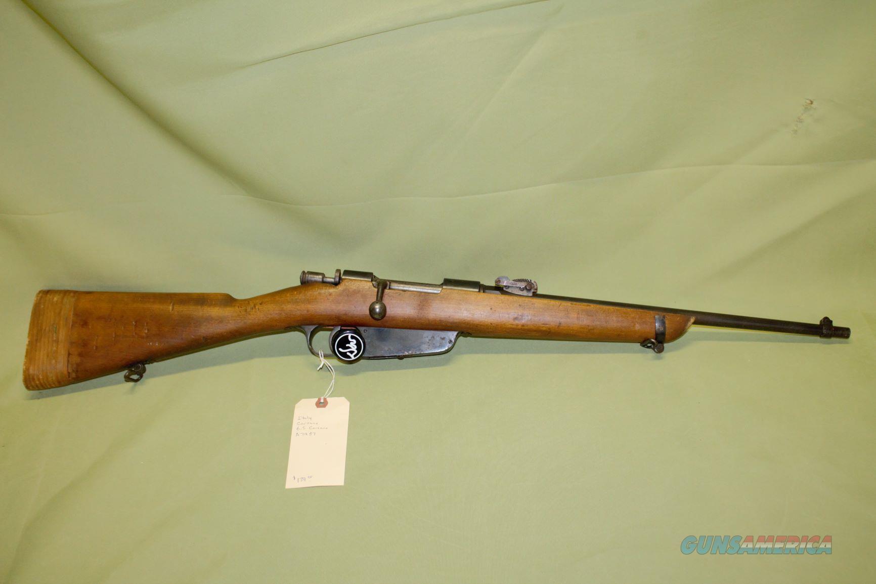 Italian 6.5 Carcano   Guns > Rifles > C Misc Rifles