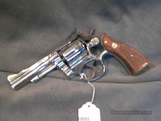 Smith+Wesson Model 15-4 38Sp Nickel  Guns > Pistols > Smith & Wesson Revolvers > Model 10