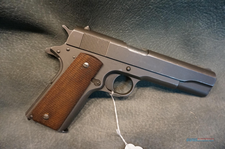 Remington Rand 1911 45ACP  Guns > Pistols > Military Misc. Pistols US > 1911 Pattern