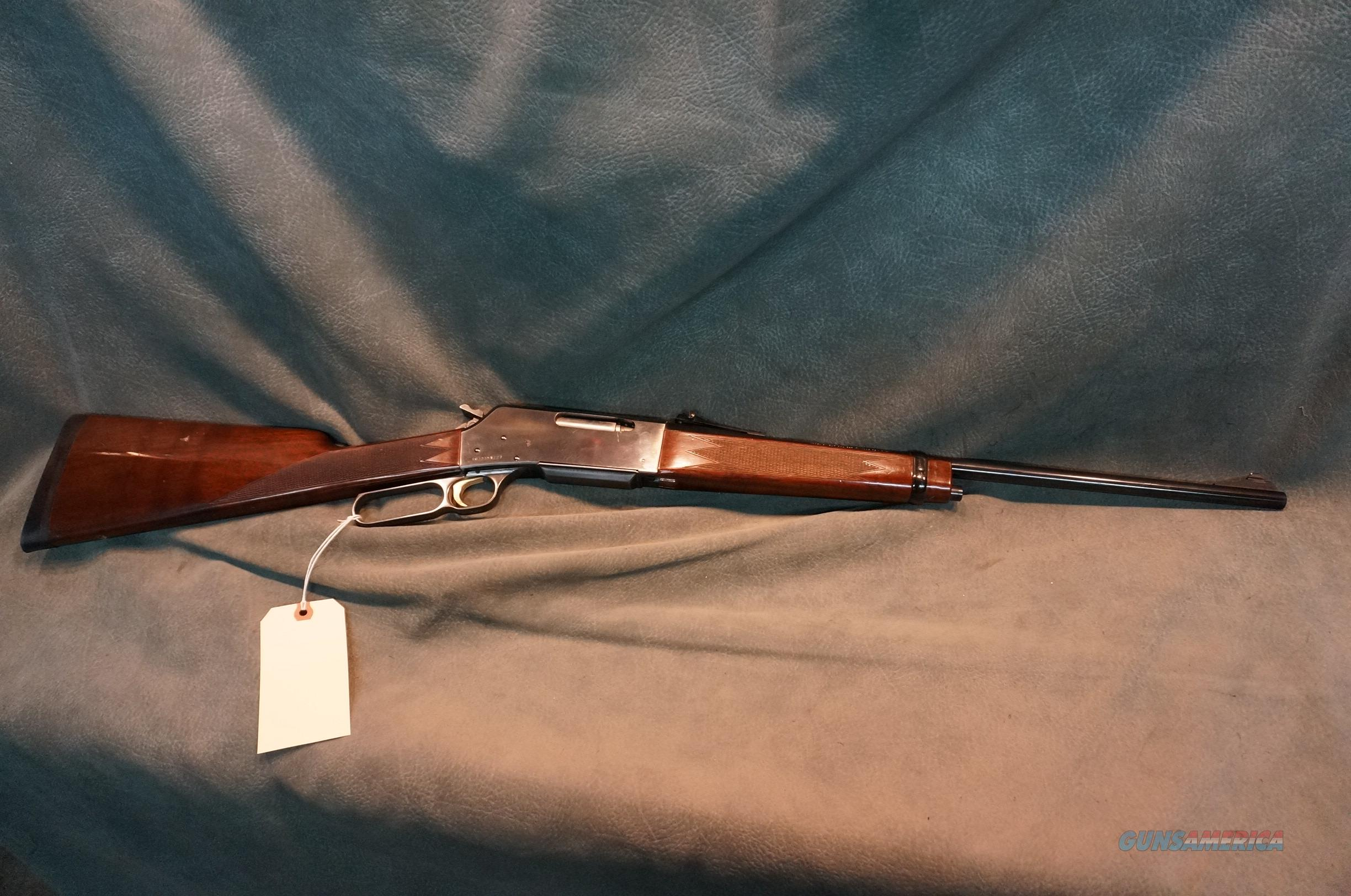 Browning BLR M-81 7mm08  Guns > Rifles > Browning Rifles > Lever Action