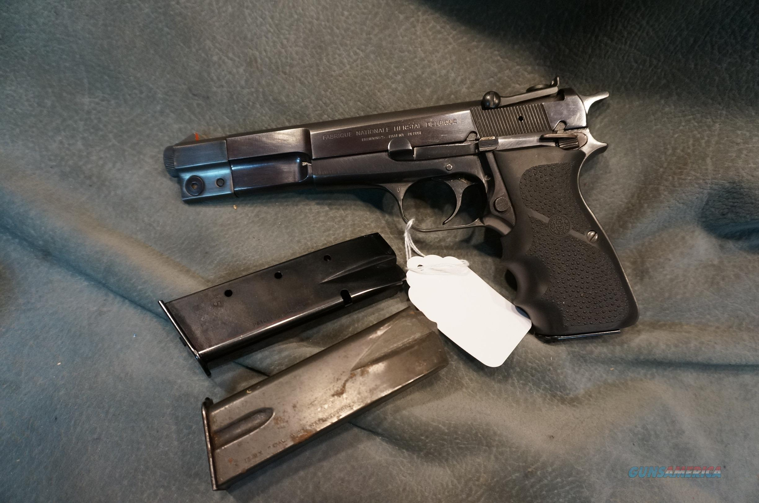 FN Browning Hi Power Competition 9mm  Guns > Pistols > Browning Pistols > Hi Power