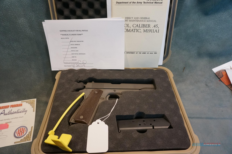 CMP 1911 45ACP  Guns > Pistols > Colt Automatic Pistols (1911 & Var)