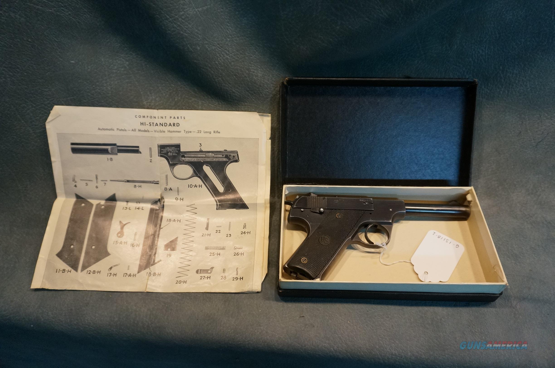 High Standard HB 22LR in the original box  Guns > Pistols > High Standard Pistols
