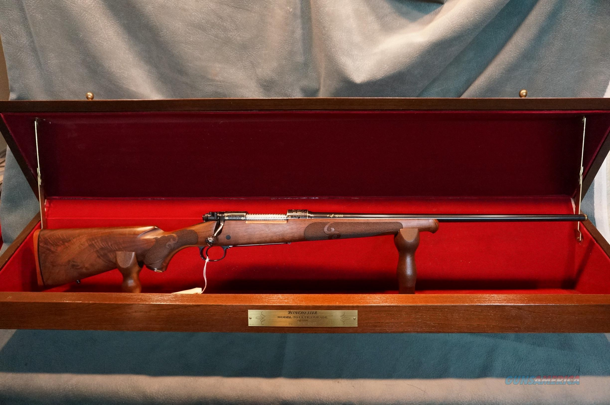 Winchester Model 70 Ultra Grade Featherweight 270 NIB  Guns > Rifles > Winchester Rifles - Modern Bolt/Auto/Single > Model 70 > Post-64