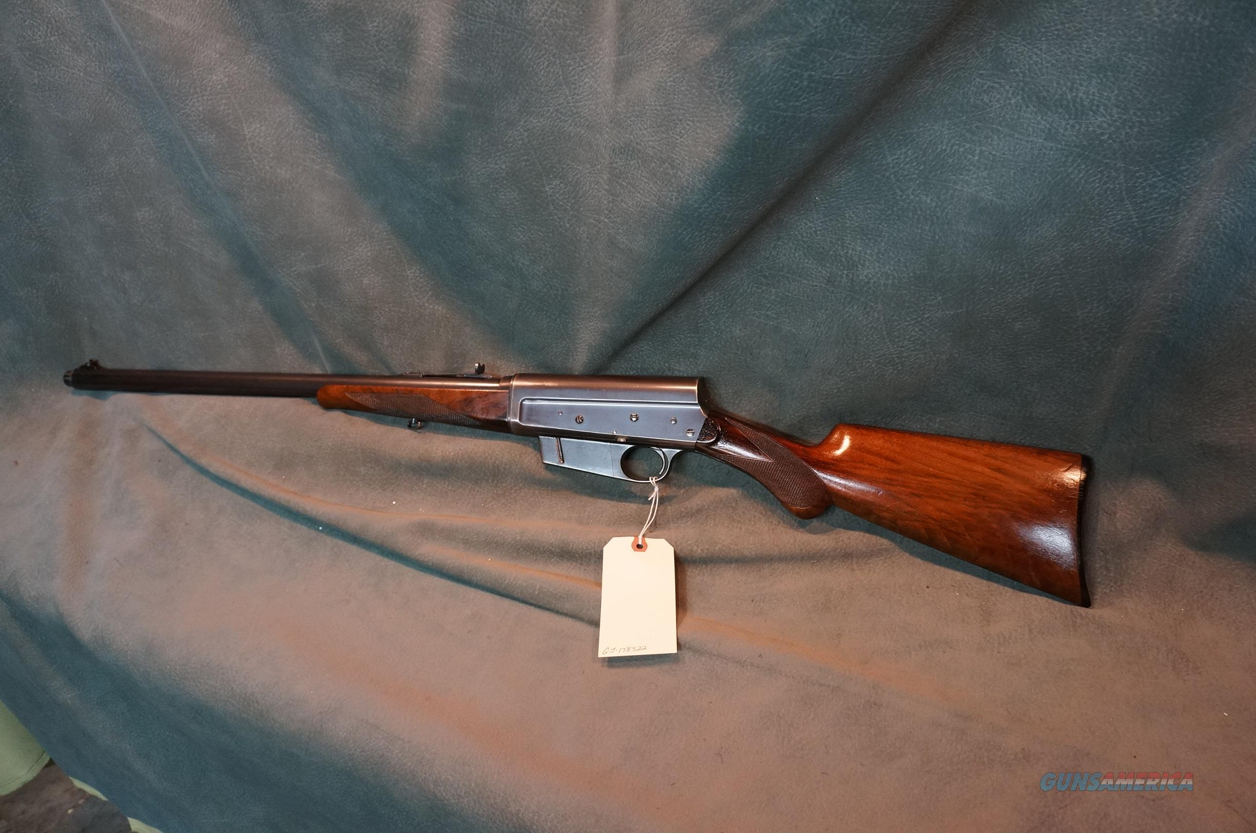 Remington Model 8 35Rem Deluxe C Grade  Guns > Rifles > Remington Rifles - Modern > Other