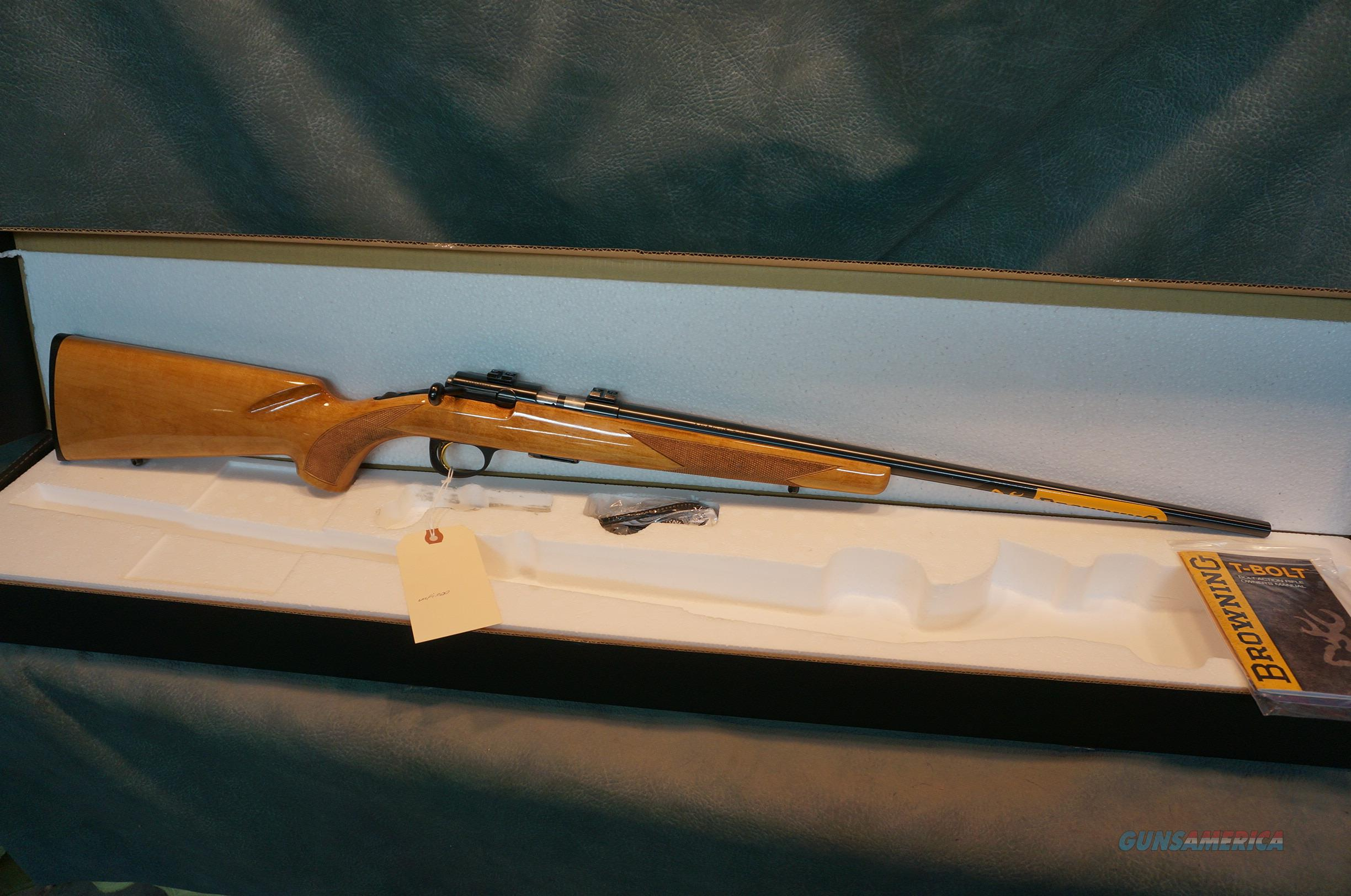 Browning T Bolt 17HMR Maple  Guns > Rifles > Browning Rifles > Bolt Action > Hunting > Blue