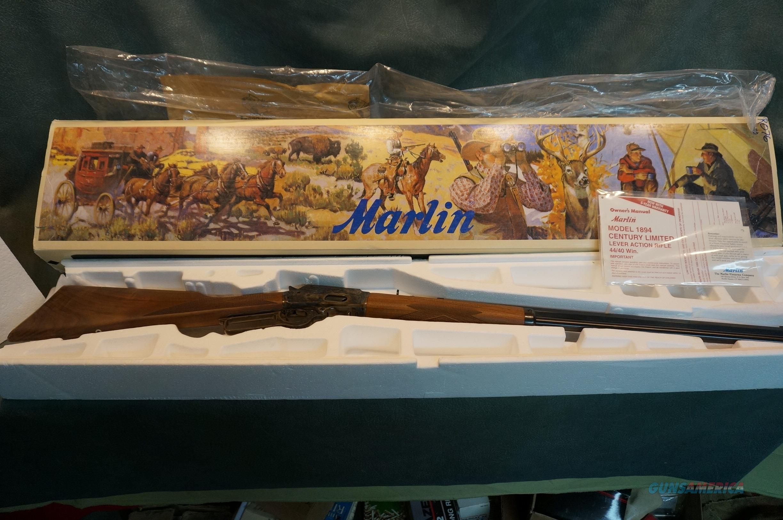 Marlin 1894 Century Limited 44-40 NIB  Guns > Rifles > Marlin Rifles > Modern > Lever Action