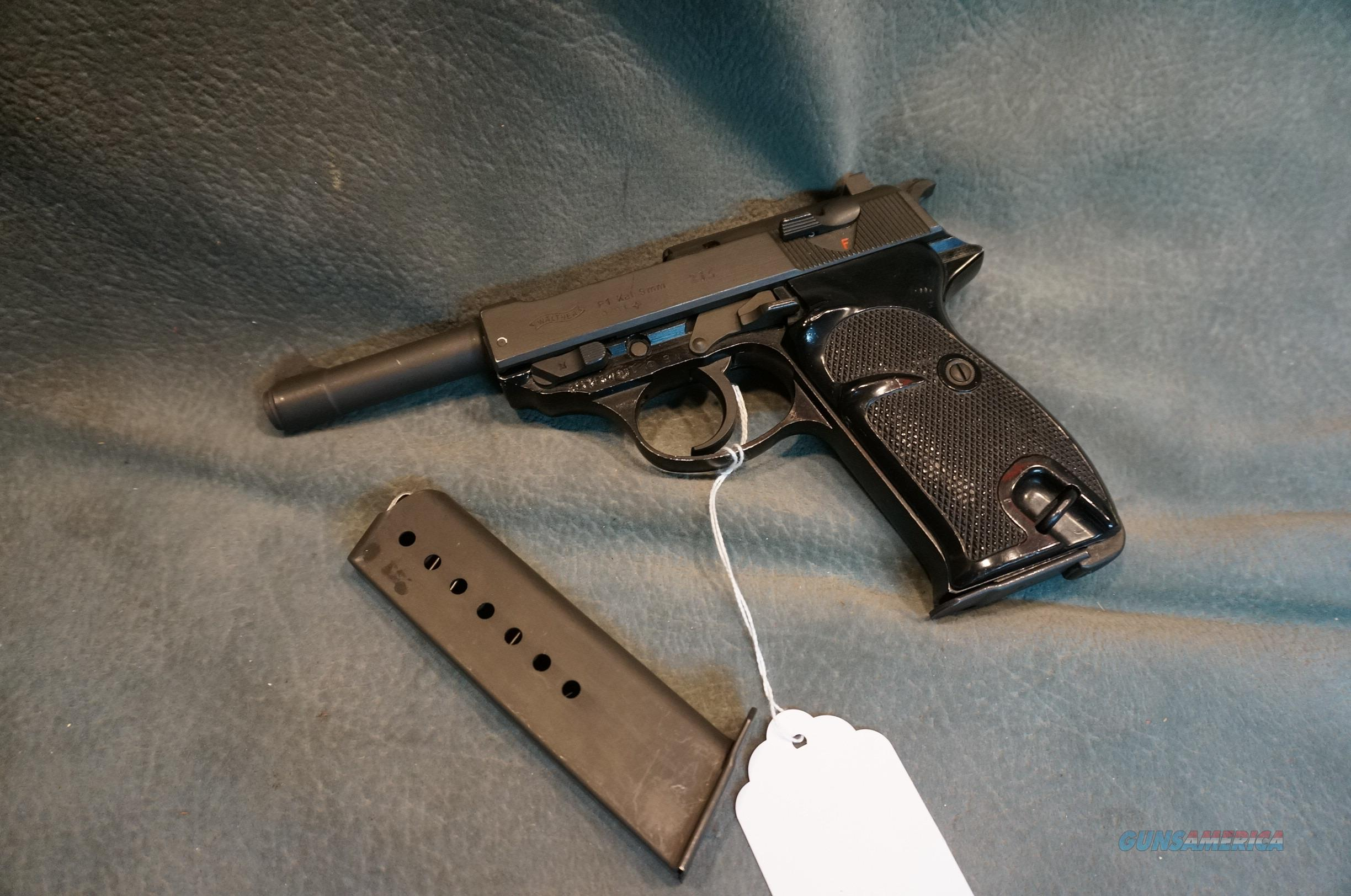 Walther P1 9mm P-38   Guns > Pistols > Walther Pistols > Post WWII > P38
