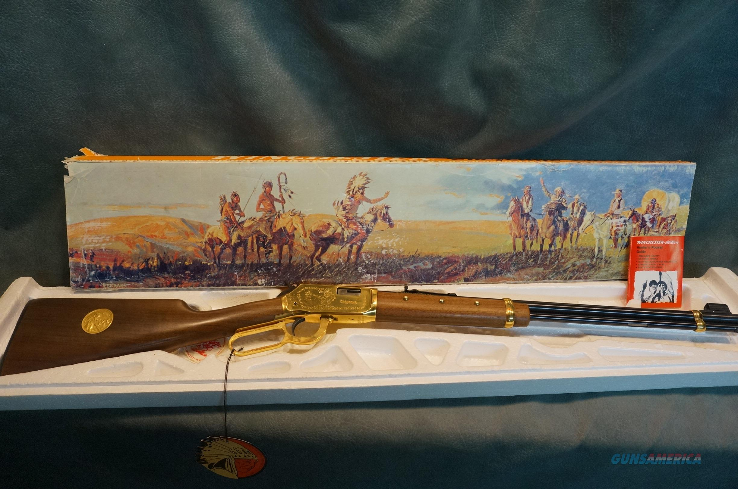 Winchester Model 9422 Cheyenne Commemorative 22S-L-LR  Guns > Rifles > Winchester Rifle Commemoratives