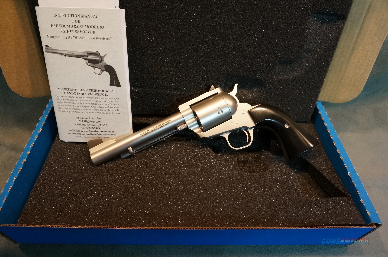 "Freedom Arms Model 83 500WE 6"" NIB  Guns > Pistols > Freedom Arms Pistols"