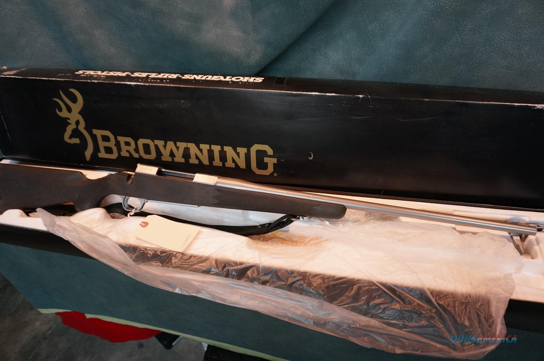 Browning ABolt Stainless Stalker 270 ANIB  Guns > Rifles > Browning Rifles > Bolt Action > Hunting > Stainless