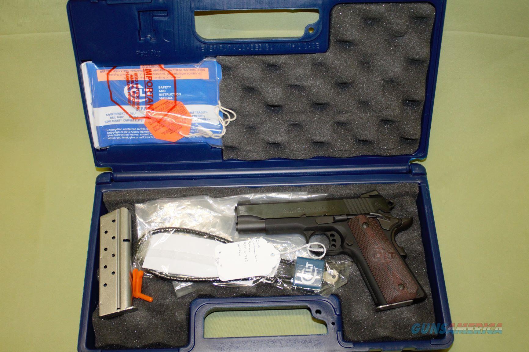 Colt Lightweight Commander 9mm  Guns > Pistols > Colt Automatic Pistols (1911 & Var)