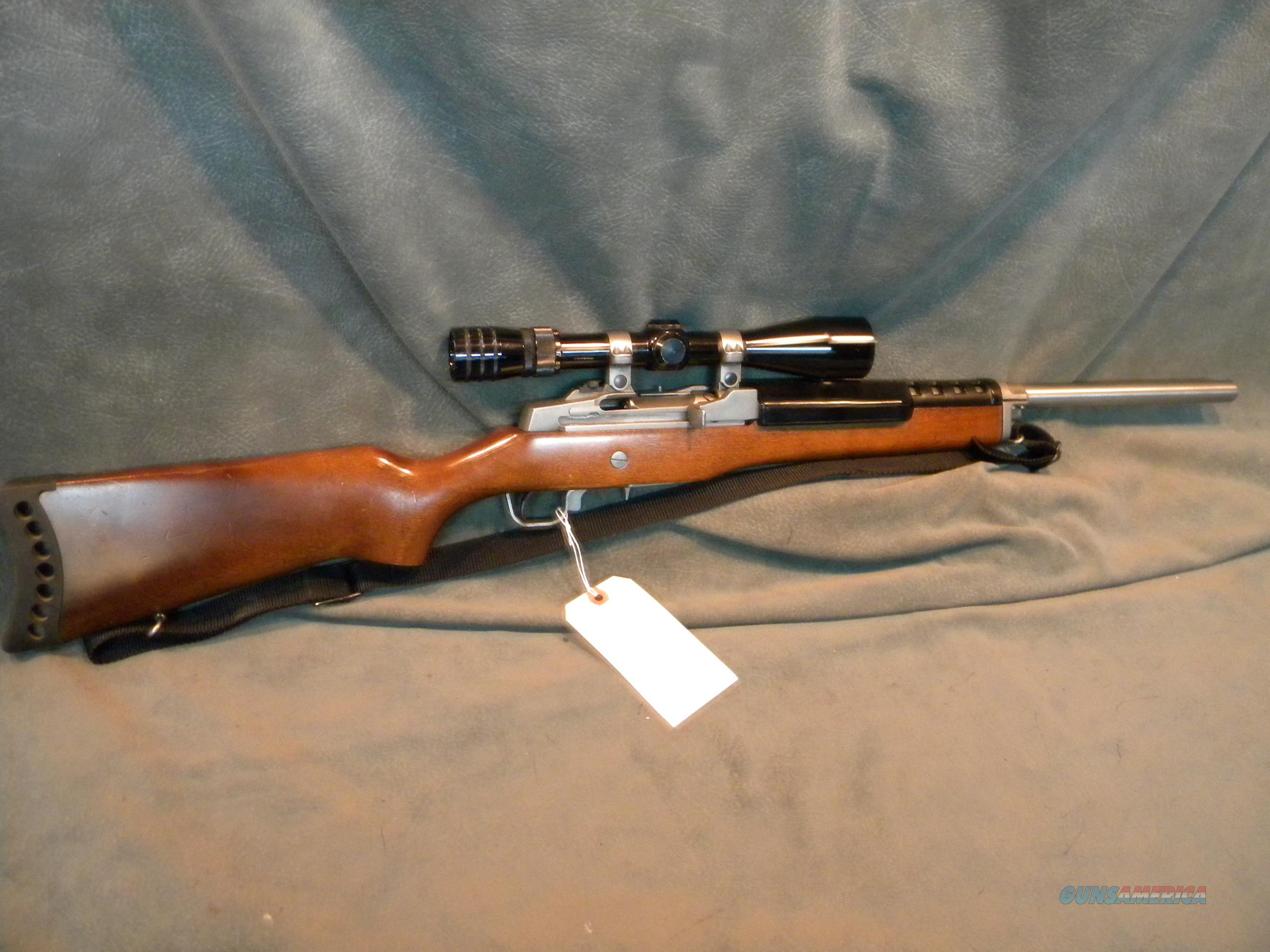 Custom Mini-14 223 stainless with scope  Guns > Rifles > Ruger Rifles > Mini-14 Type
