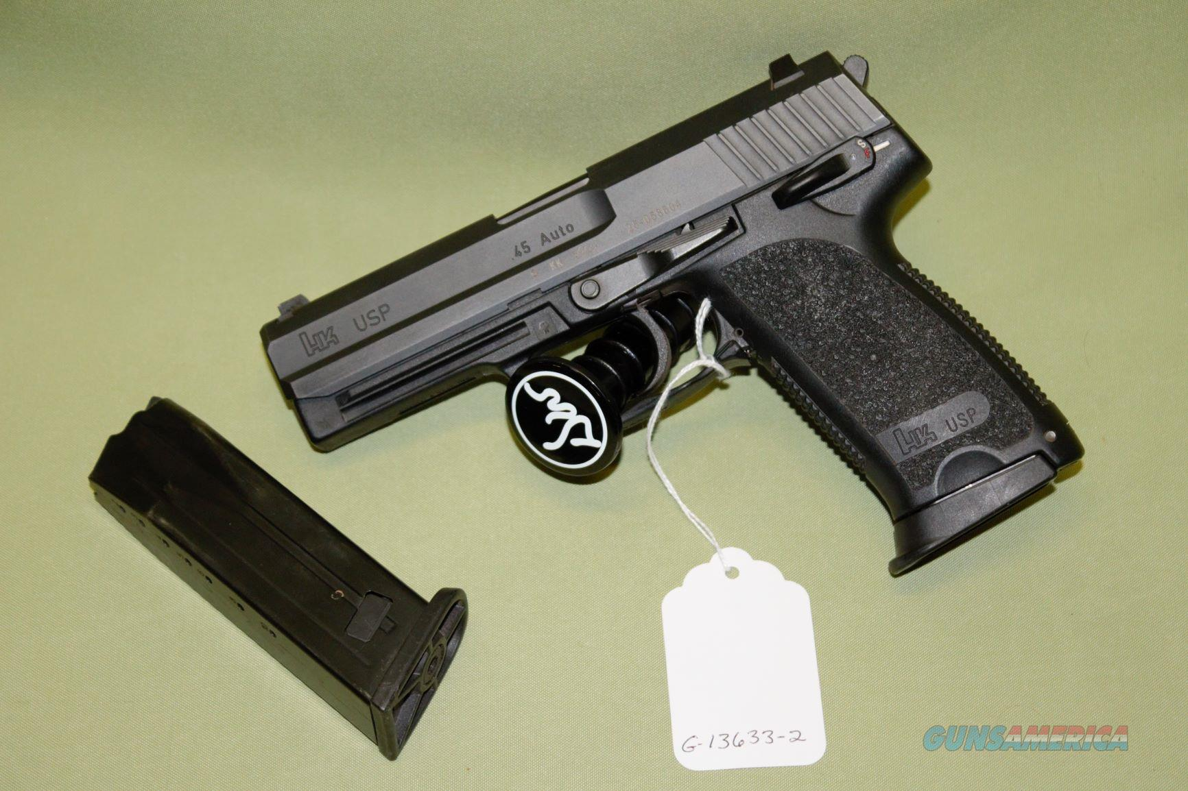 Heckler & Koch USP 45 ACP  Guns > Pistols > Heckler & Koch Pistols > Polymer Frame