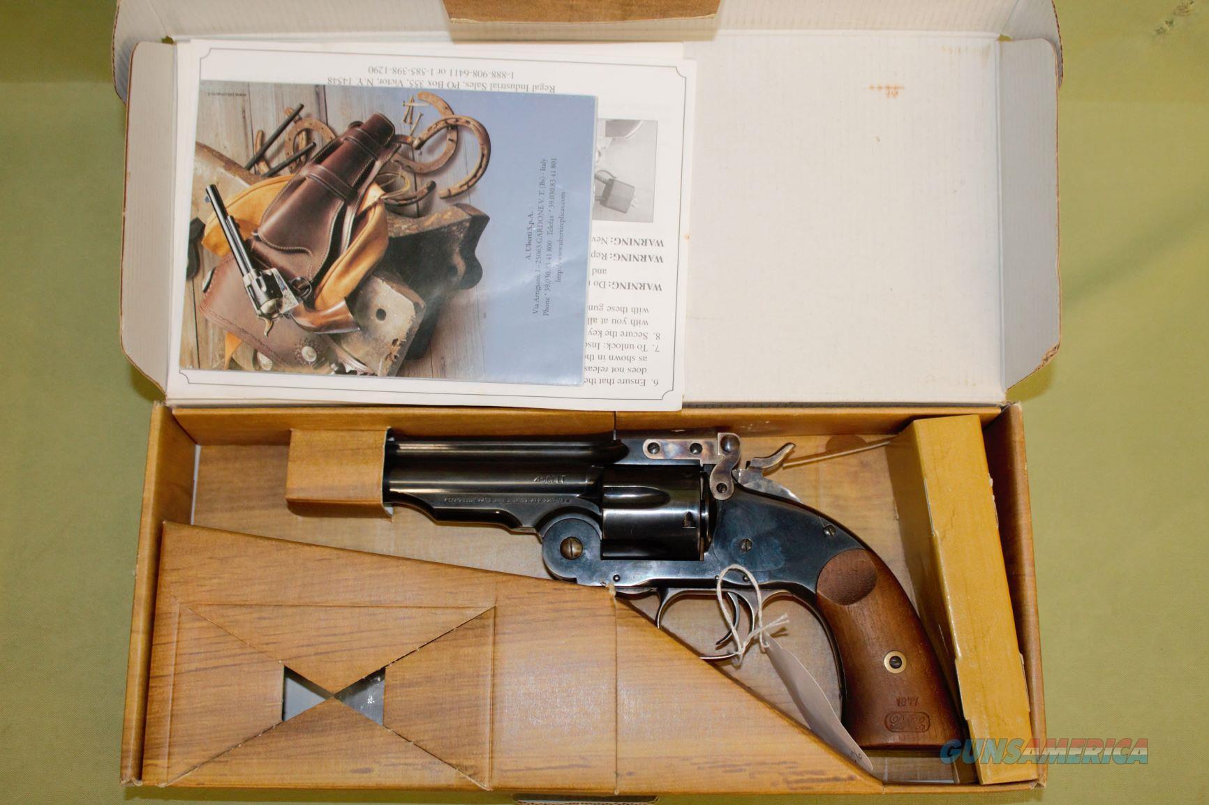 Uberti Schofield 45 LC  Guns > Pistols > Uberti Pistols > Ctg.