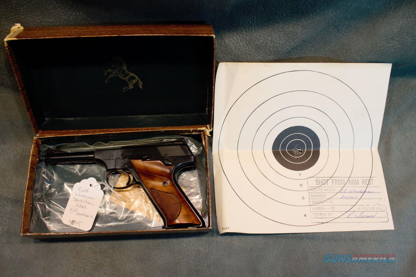 Colt Woodsman Sport Model 22LR NIB  Guns > Pistols > Colt Automatic Pistols (22 Cal.)