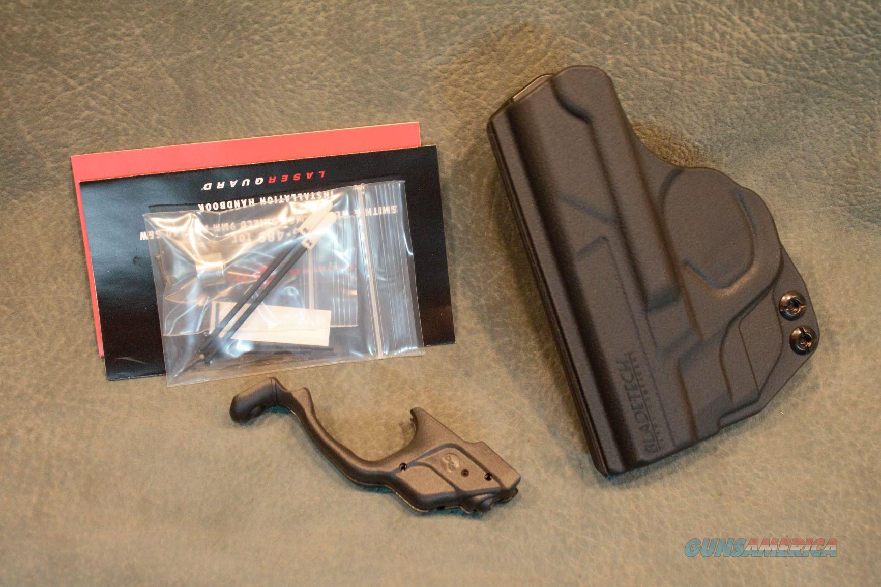 Crimson Trace S&W M&P Shield laser with IWB holster  Non-Guns > Gun Parts > Misc > Pistols