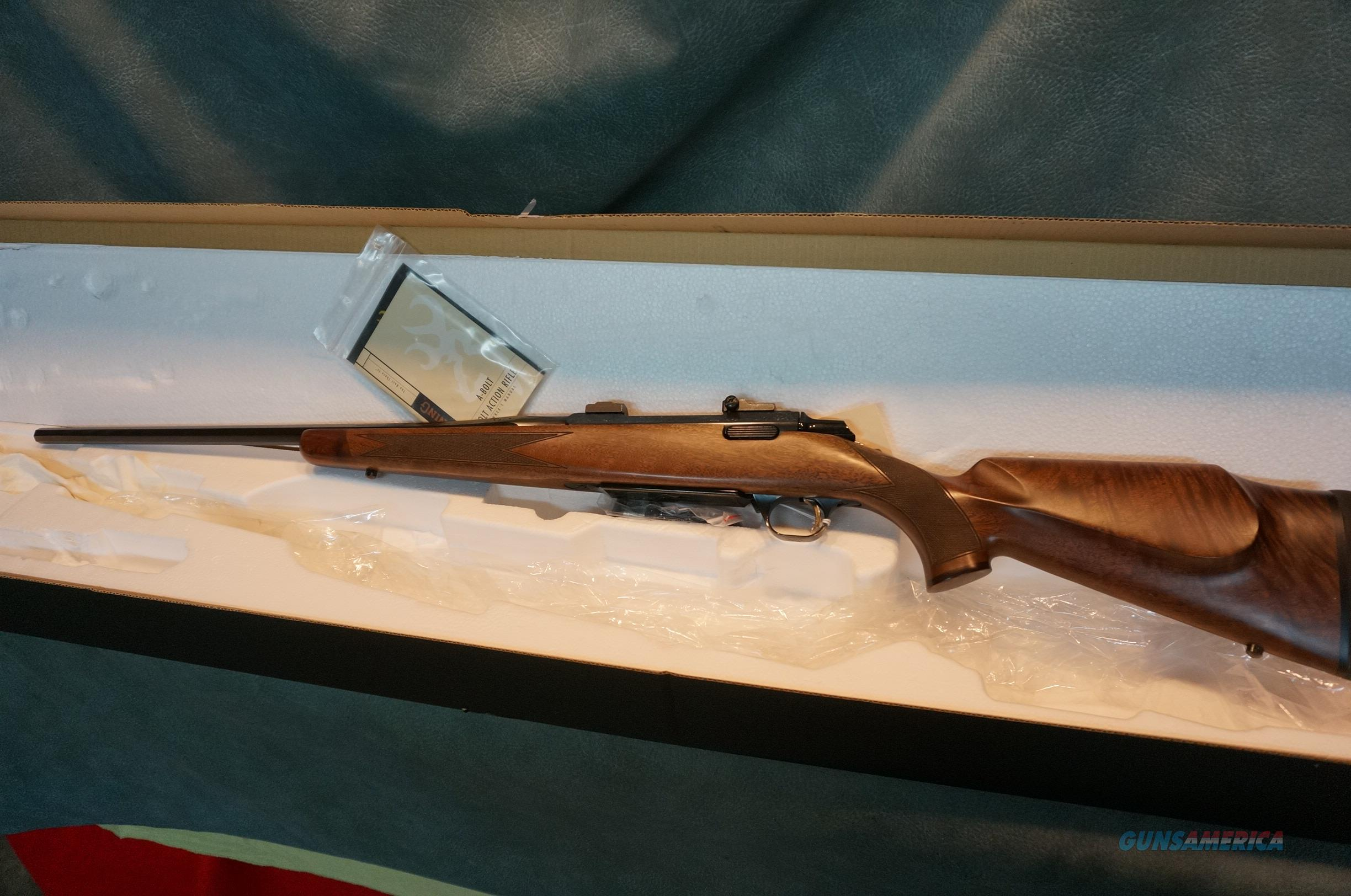 Browning ABolt II Medallion Special Edition 270 Octagon bbl  Guns > Rifles > Browning Rifles > Bolt Action > Hunting > Blue