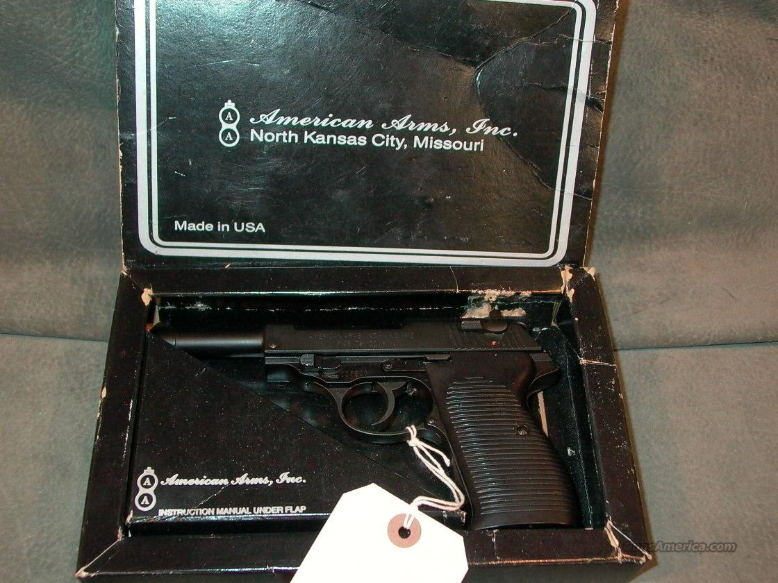 American Arms P98 22LR  Guns > Pistols > American Arms Pistols