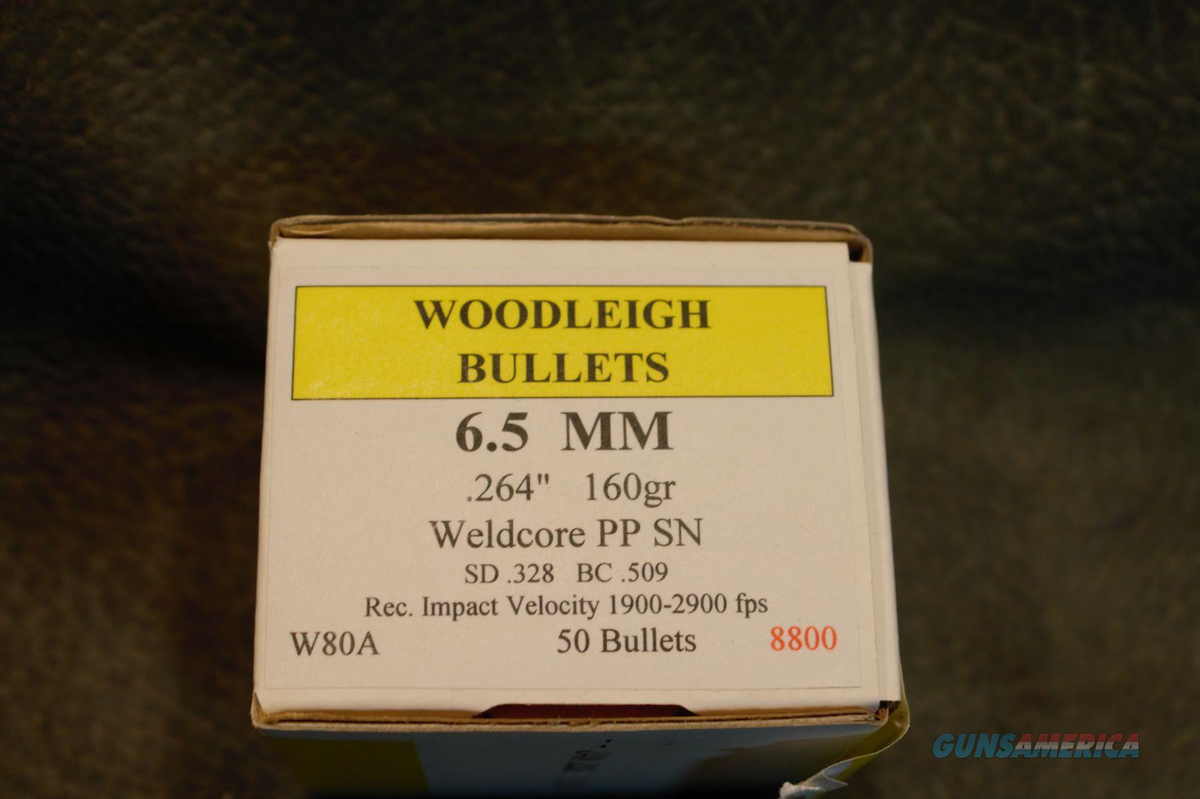 Woodleigh 6.5MM Bullets 160gr  Non-Guns > Ammunition