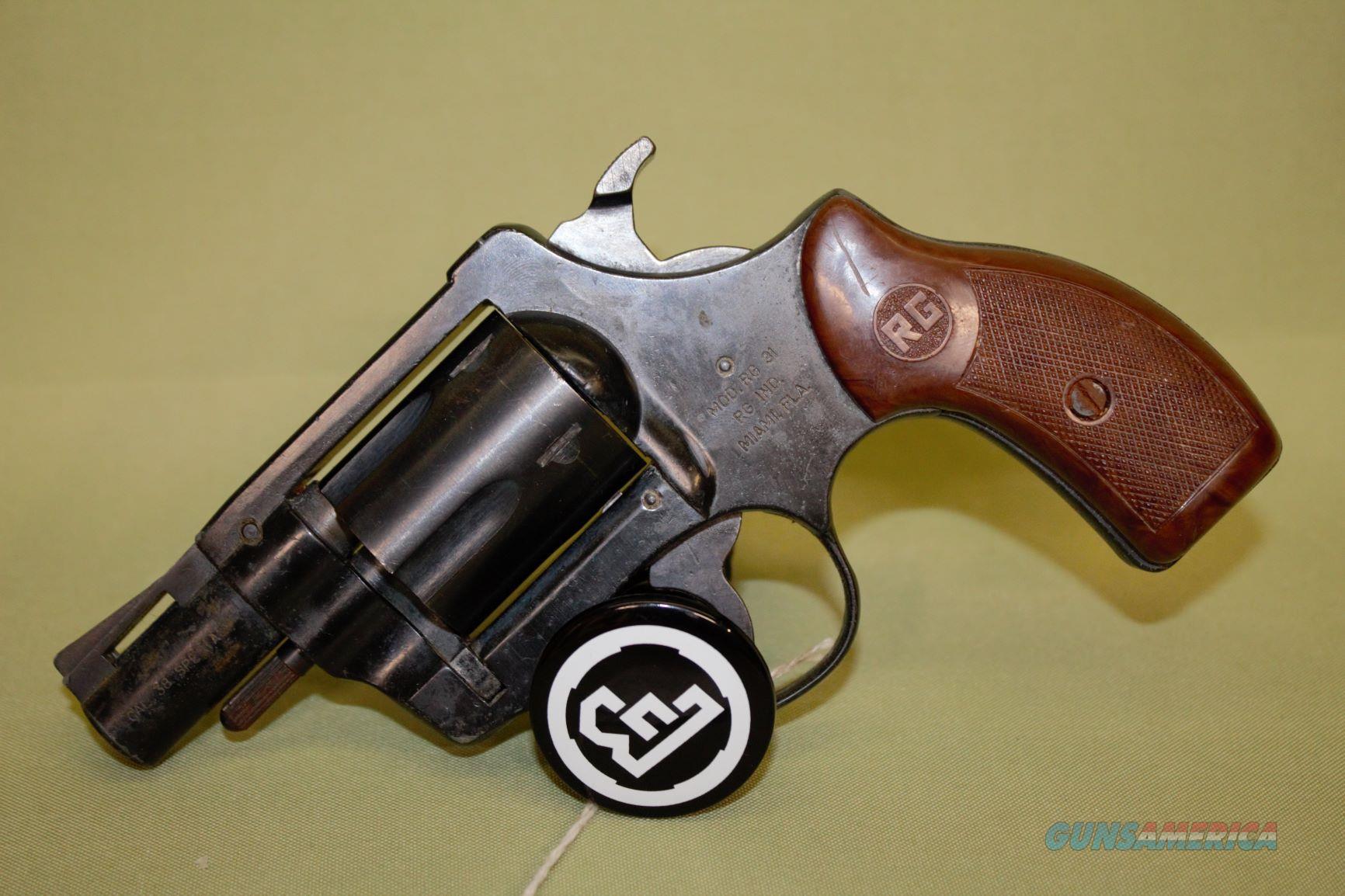RG Model 31 38 Special  Guns > Pistols > R Misc Pistols