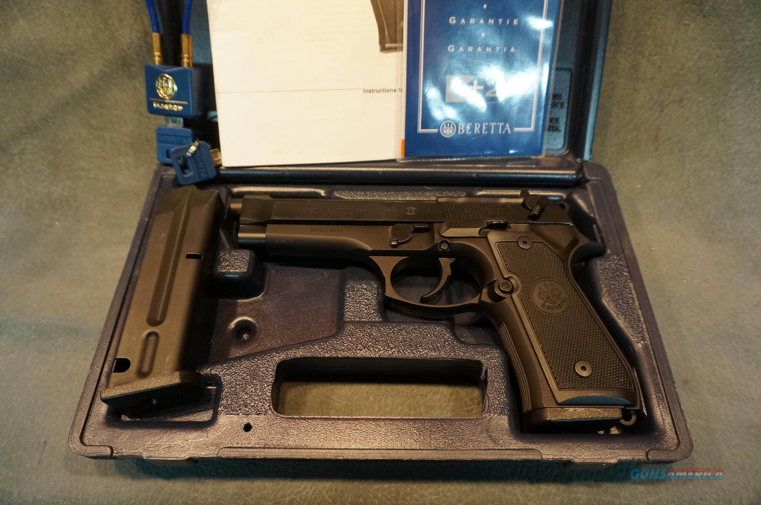 Beretta 92 9mm with the box and papers  Guns > Pistols > Beretta Pistols > Model 92 Series