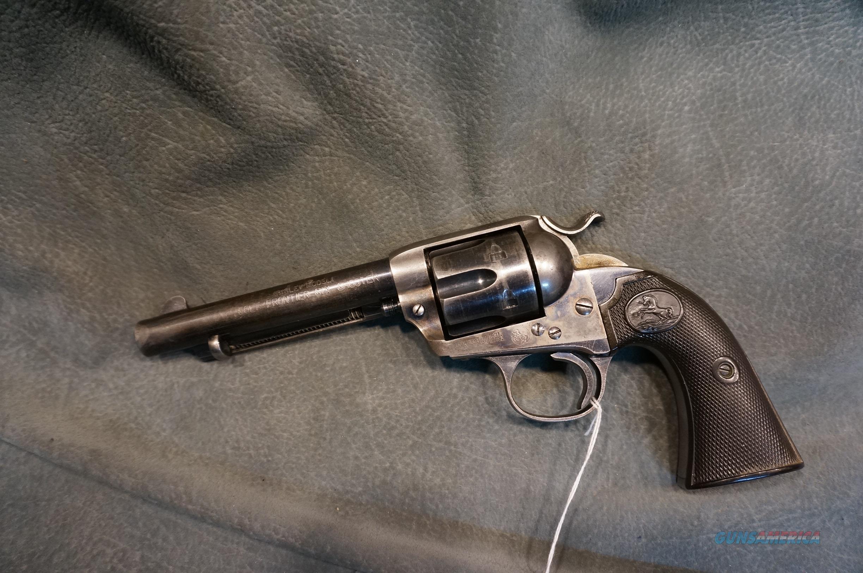 Colt SAA Bisley Frontier Six Shooter 44-40 made in 1903  Guns > Pistols > Colt Single Action Revolvers - 1st Gen.