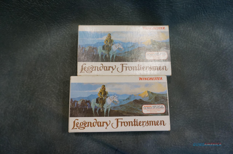 Winchester Legendary Frontiersman ammunition 38-55  Non-Guns > Ammunition