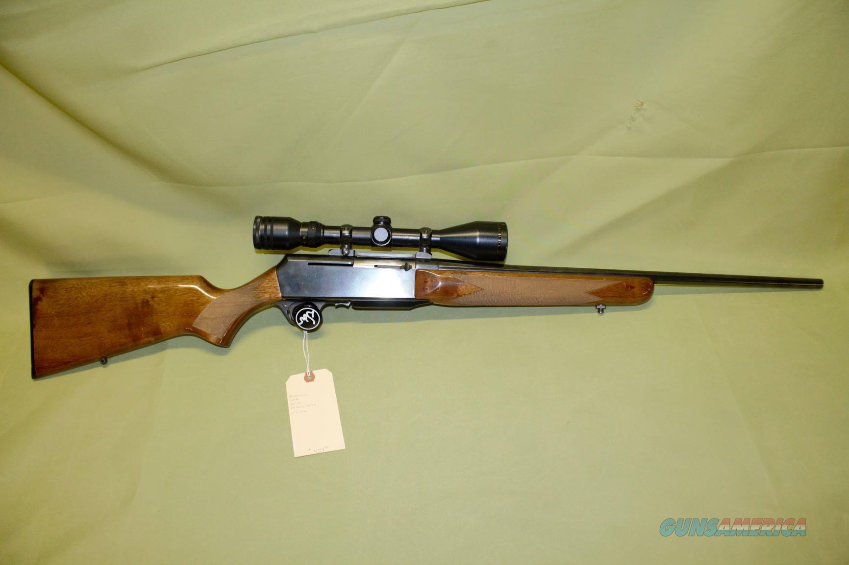 Belgium Browning BAR 30-06   Guns > Rifles > Browning Rifles > Semi Auto > Hunting
