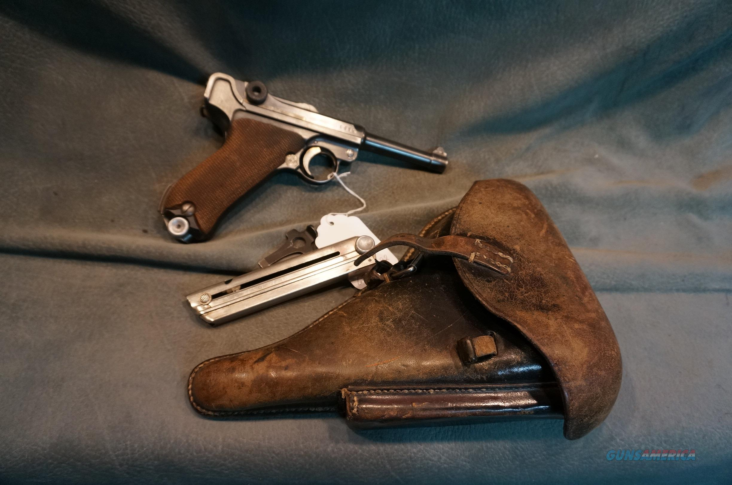 1916 DWM Luger 9mm with 2 magazines and holster  Guns > Pistols > Luger Pistols