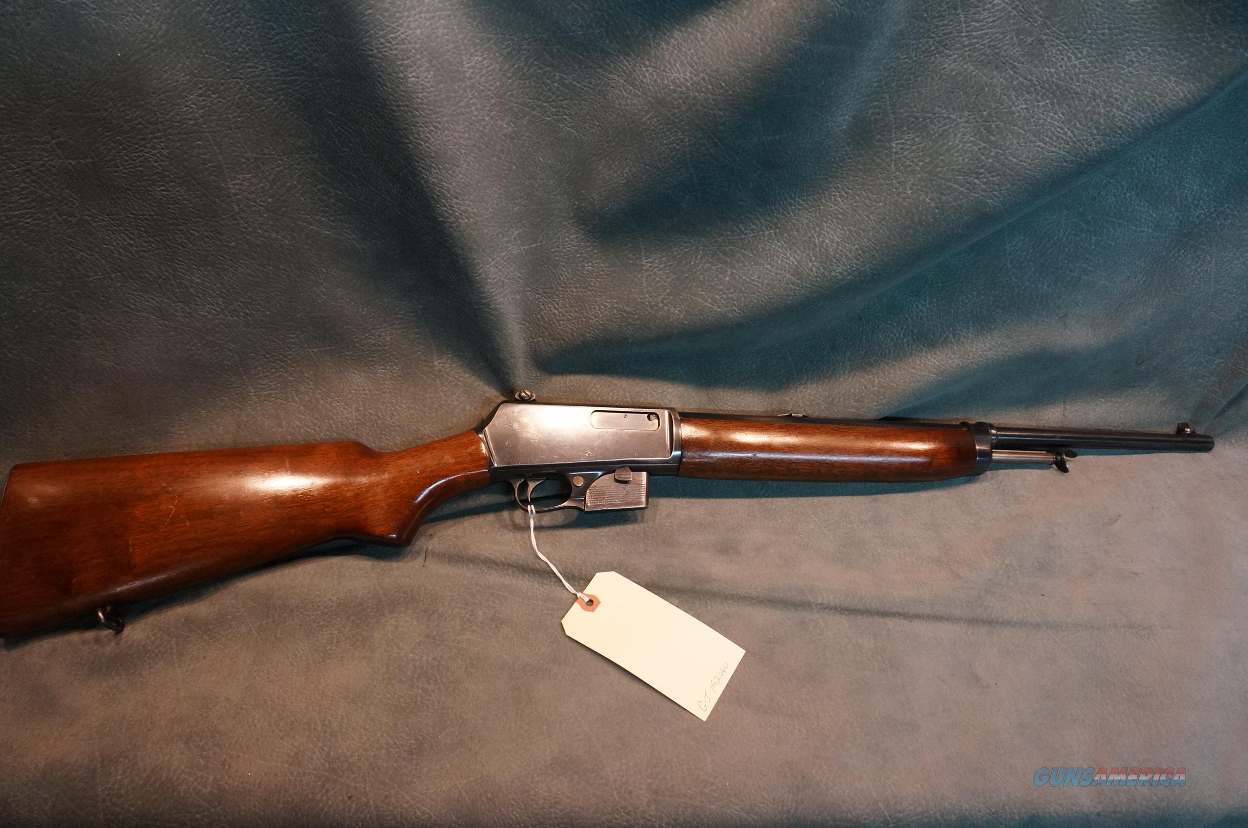 Winchester Model 07 351Cal  Guns > Rifles > Winchester Rifles - Modern Bolt/Auto/Single > Autoloaders