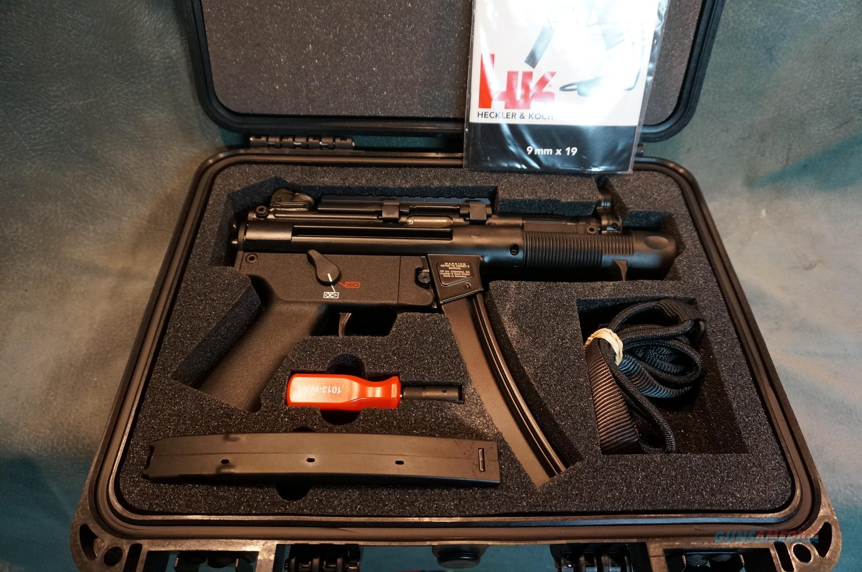 H+K SP5K 9mm NIB  Guns > Pistols > Heckler & Koch Pistols > Polymer Frame
