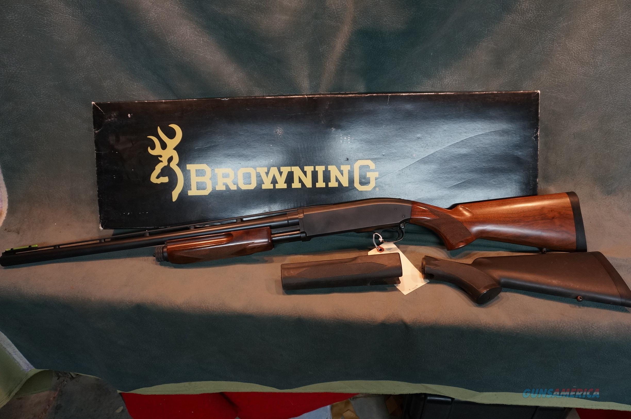 "Browning BPS 12ga 2 3/4"",3"" or 3 1/2"" LNIB with 2 sets of stocks  Guns > Shotguns > Browning Shotguns > Pump Action > Hunting"