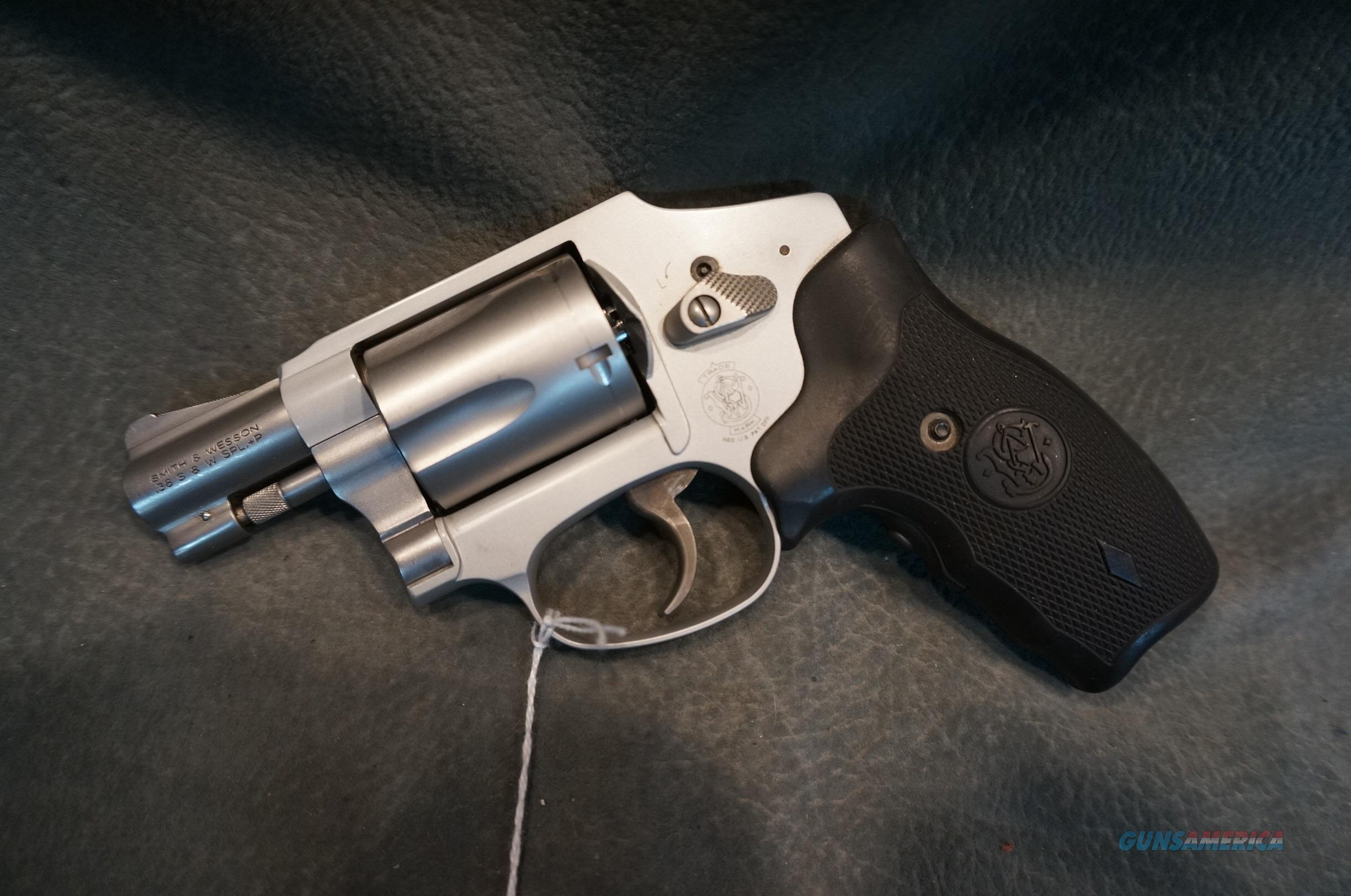 "S+W 642-2 38Sp 2"" Crimson Trace grips  Guns > Pistols > Smith & Wesson Revolvers > Pocket Pistols"