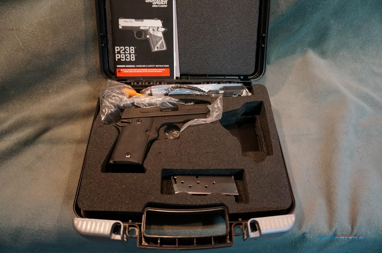 SigSauer P938 9mm ANIB  Guns > Pistols > Sig - Sauer/Sigarms Pistols > P938