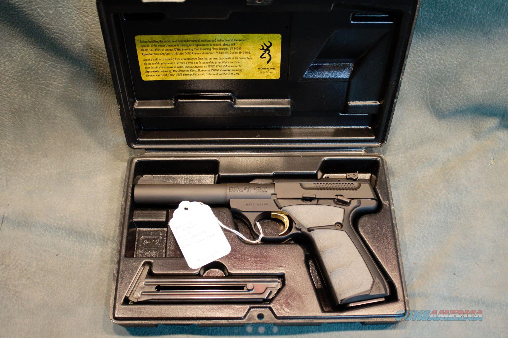Browning Buckmark 22LR  Guns > Pistols > Browning Pistols > Buckmark