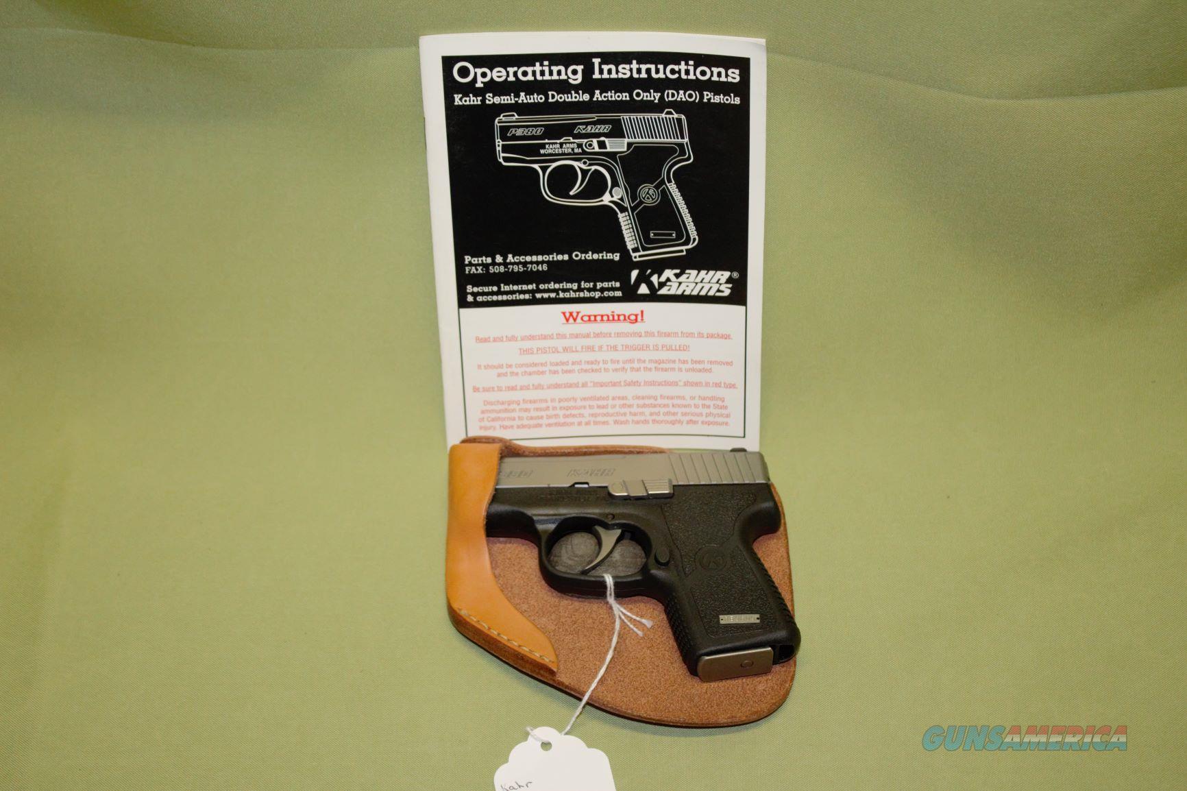 Kahr Arms P380 Auto  Guns > Pistols > Kahr Pistols