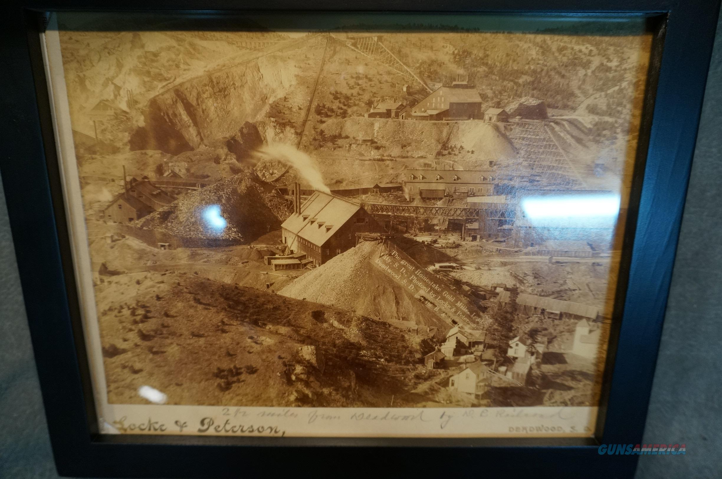 Homestake Gold Mine Antique photo  Non-Guns > Miscellaneous