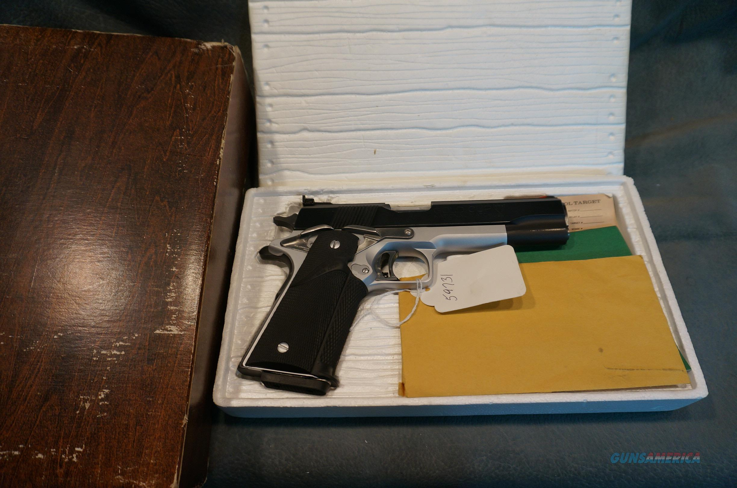 Swenson Custom Gold Cup 45ACP  Guns > Pistols > Custom Pistols > 1911 Family