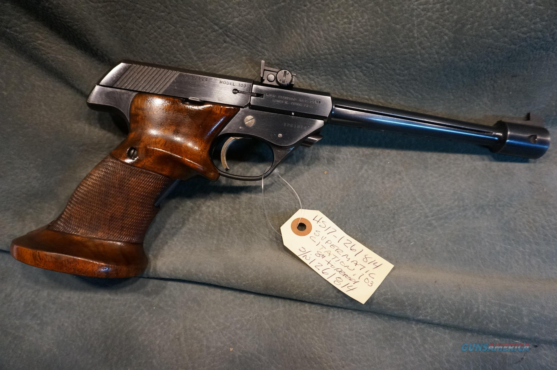 High Standard Model 103 Supermatic Citation 22LR  Guns > Pistols > High Standard Pistols